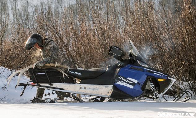 polaris snowmobiles voyageur 155