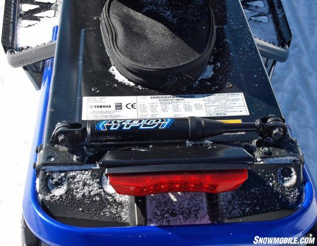 2016 Yamaha Viper R-TX SE Performance Damper