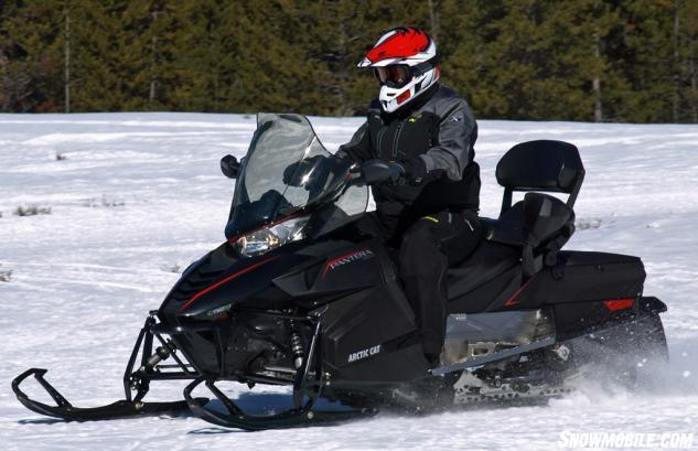 2016 Arctic Cat Pantera 3000 Action Front
