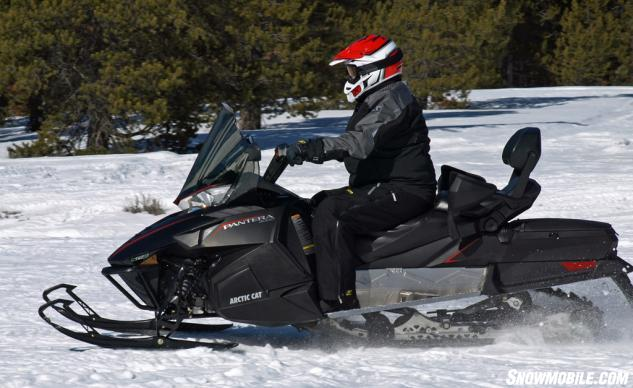 2016 Arctic Cat Pantera 3000 Action Profile