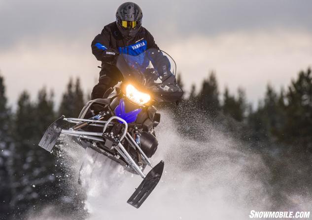 2016 Yamaha Phazer R-TX Jump