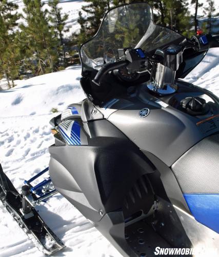 2016 Yamaha Apex X-TX Curved Bars
