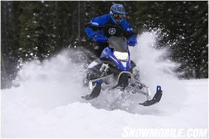 The XTX is Yamaha's 'big bump' sled.