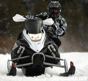 Refinements to the front end make the XTX corner flatter than last year's Nytro version.