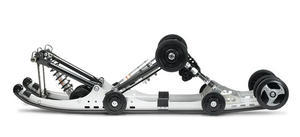 We feel the 2009 XTX rear suspension transfers weight front-to-rear way better than the Nytro set up.