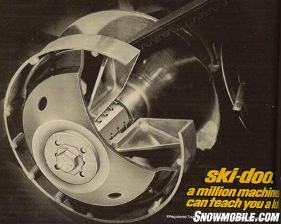 1974 Ski Doo T Nt 440 Everest Snowmobile Com
