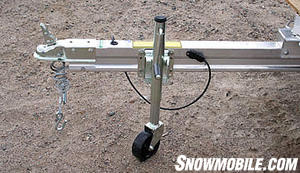 A trailer jack lets you maneuver a trailer, but requires periodic care, too.