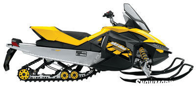 mxz 500ss doo ski 2009 suspension rear rev xp trail 550x snowmobile power fan chassis cooled sc newer built around