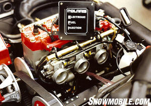 The ECU (electronic control unit) acted as the fuel injection system's brain.