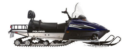 A 20-inch wide by 156-inch long track combines with a 3-speed tranny for mega on-snow workouts.