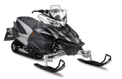 Yamaha's top line Vector LTX GT comes with clicker adjustable shocks and black with silver styling.
