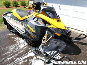 This 2009 Ski-Doo MXZ T'NT needed some work after a long winter of riding.