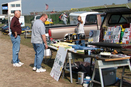 Eagle River's Derby Track plays host to the 'Reunion' and its swap meet.