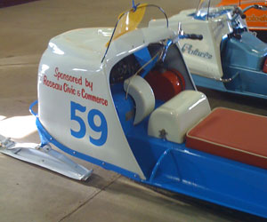1960s Polaris Snowmobile