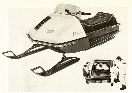 1975 Polaris TC Advertisement