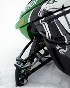 2010 Arctic Cat F8 Sno Pro Front Suspension