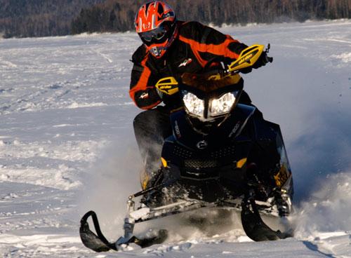 2010 Ski-Doo Backcountry 600 Action