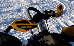 2010 Ski-Doo Backcountry 600 Handlebar