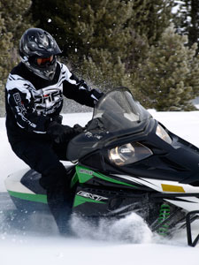 Snowmobile First Ride