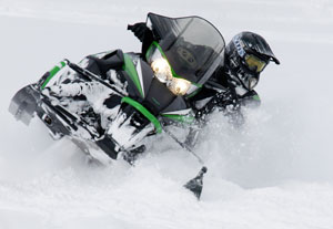 2013 Arctic Cat Powder Sled