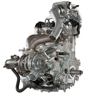 Arctic Cat M1100 Turbo Engine