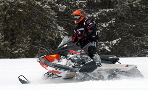 2013 Polaris Indy SP Action