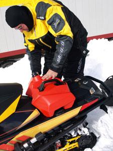 Ski-Doo QLink Storage System