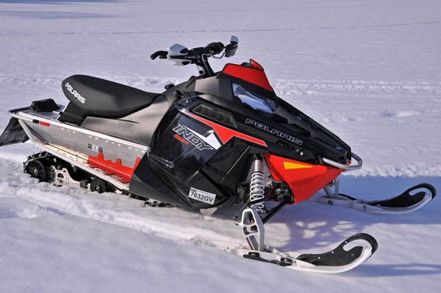 2014 Polaris 800 Indy SP test sled