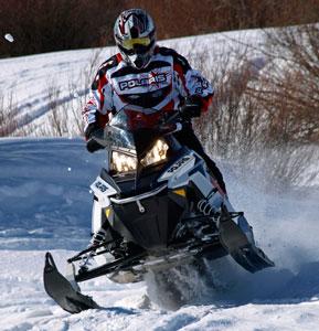 2014 Polaris Indy 550 Action
