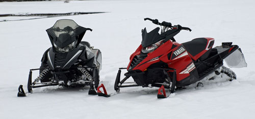 2014 Yamaha SR Viper LTX SE and Arctic Cat ZR 7000