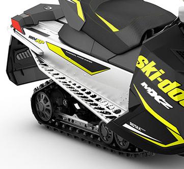 2015 Ski-Doo MXZ Sport 600 Carb SC-5 Rear Suspension