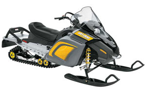 Designed for youthful winter enthusiasts, Ski-Doo's Freestyle offered a base 300cc powerplant in a new chassis.