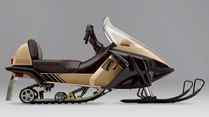 1986 Yamaha Inviter Vintage Review Snowmobile Com