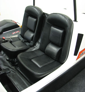"Ski-Doo's 1974 Elite brought ""pony car"" bucket seat interior to snowmobiling."