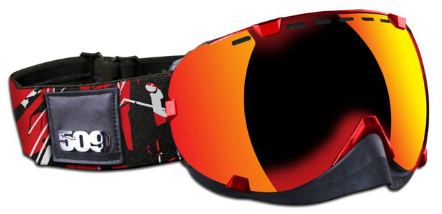 509 Aviator Red Goggles