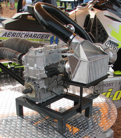 Aerocharger Ski-Doo ETEC Engine
