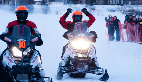 Alaska Iron Dog Polaris