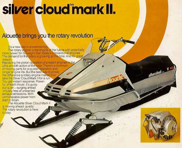 1974 Alouette Silver Cloud Mark II