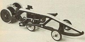 Alouette Single Rail Suspension