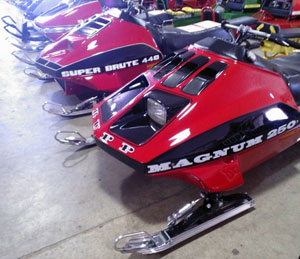 Alouette and Rupp Vintage Snowmobiles