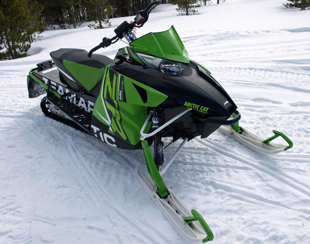 Arctic Cat 600cc Direct Injection Engine