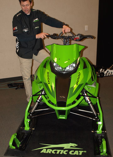 Arctic Cat 2016 Mountain Suspension