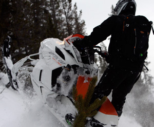 Snowmobile Suspensions and Steering Posts