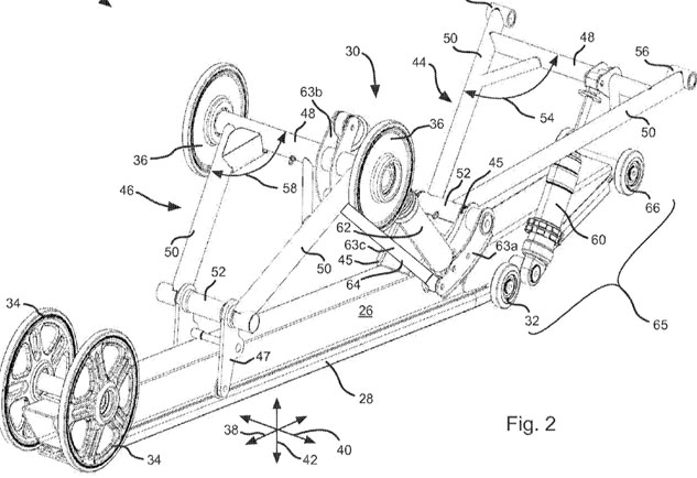 Arctic Cat Suspension Patent