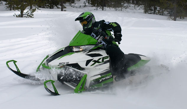 Arctic Cat Turbocharged Snowmobile
