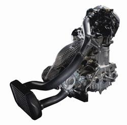 Arctic Cat Z1 Turbo Engine