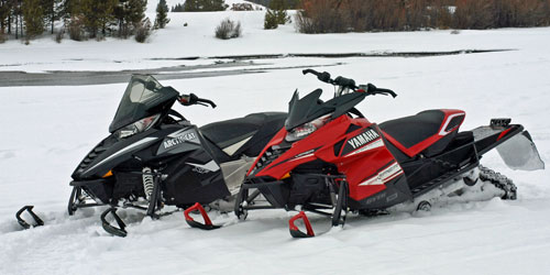 2014 Arctic Cat ZR 7000 and Yamaha Viper