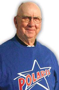 David Johnson was an original inductee into the Polaris Hall of Fame. (Polaris Photo)