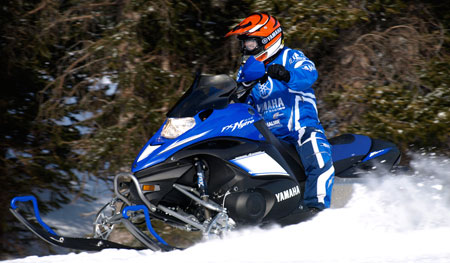Yamaha brought 4-stroke acceptance, proving 4-strokes could compete with two-strokes in performance snowmobiling.