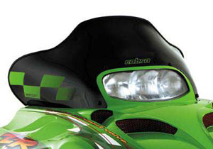 Eye-catching windshields from Cobra add wind protection and style.